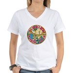 Florida For McCain / Palin Women's V-Neck T-Shirt
