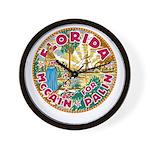 Florida For McCain / Palin Wall Clock