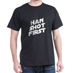 Han Shot First Dark T-Shirt