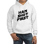 Han Shot First Hooded Sweatshirt