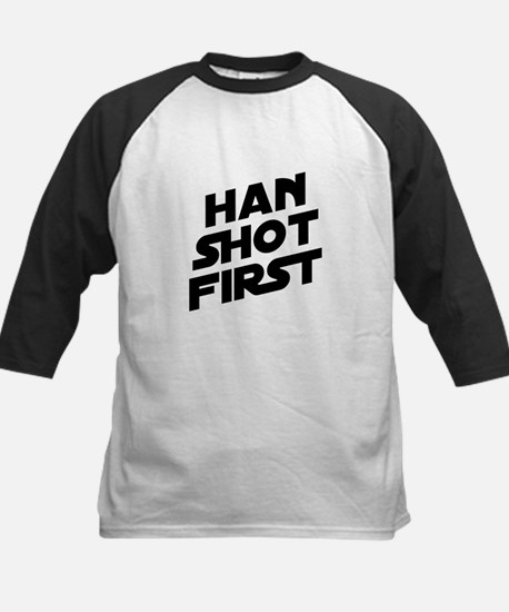 Han Shot First Kids Baseball Jersey