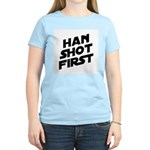 Han Shot First Women's Light T-Shirt