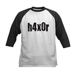 h4x0r Kids Baseball Jersey