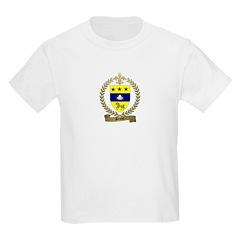 BRUNET Family Crest Kids T-Shirt