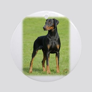 Dobermann 9P99D-60 Ornament (Round)
