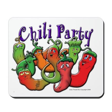 Chili Party Mousepad