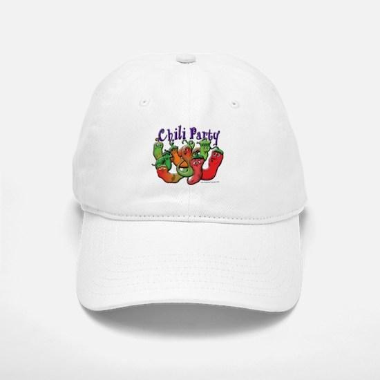 Chili Party Baseball Baseball Cap