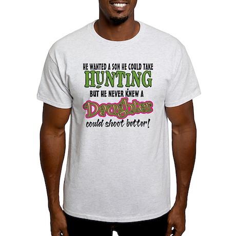 Daughters Shoot Better Light T-Shirt