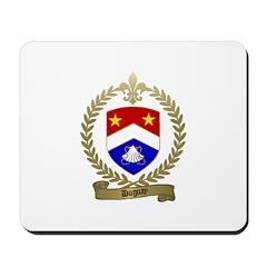 DUGUAY Family Crest Mousepad
