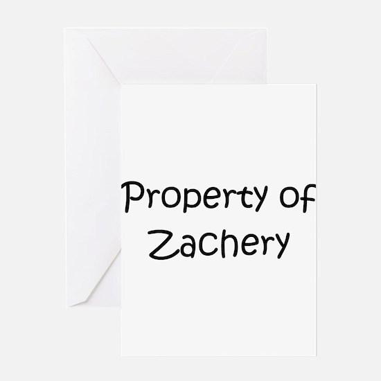 Unique Zachery Greeting Card