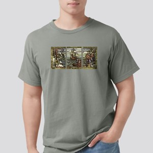 Thanksgiving Artwork Mens Comfort Colors® Shirt