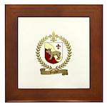 DUGAST Family Crest Framed Tile