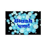 Wash Em! Rectangle Magnet (100 pack)