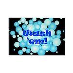 Wash Em! Rectangle Magnet (10 pack)