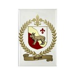 DUGAST Family Crest Rectangle Magnet (100 pack)