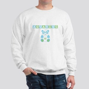 Aquarius Bear - Blue Sweatshirt