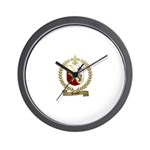 DUGAST Family Crest Wall Clock