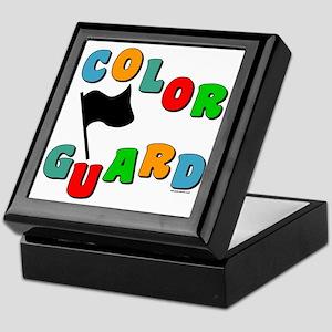 Colorful Guard Keepsake Box