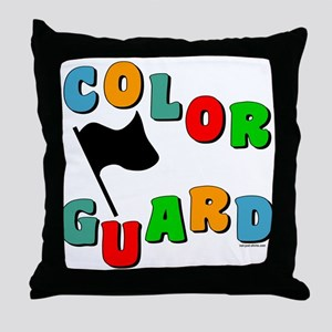 Colorful Guard Throw Pillow