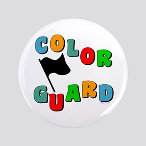 "Colorful Guard 3.5"" Button"
