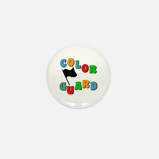 Colorful Guard Mini Button