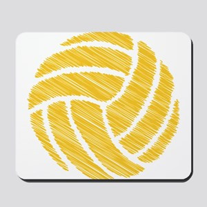 scribble ball Mousepad