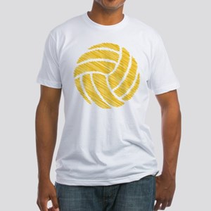 scribble ball Fitted T-Shirt