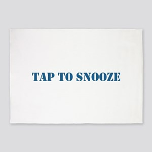 Tap Snooze 5'x7'Area Rug