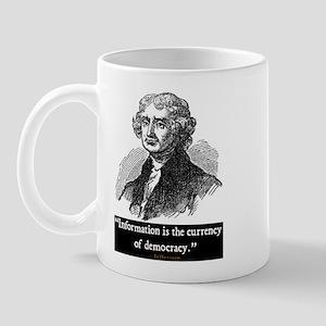 JEFFERSON DEMOCRACY QUOTE Mug