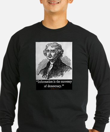 JEFFERSON DEMOCRACY QUOTE T