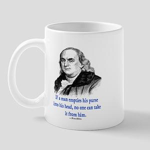FRANKLIN QUOTE Mug