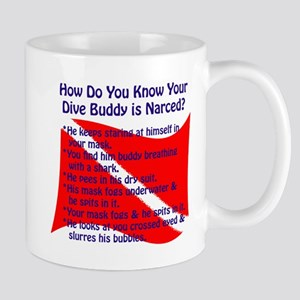 Scuba Buddy Narced? Mug