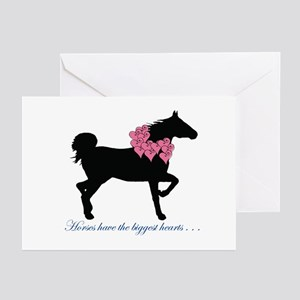 Horse Hearts Valentine's Cards (Pk of 10)