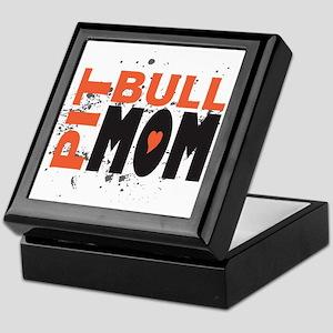 Pit Bull Mom Keepsake Box