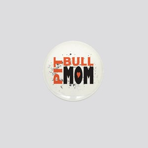 Pit Bull Mom Mini Button
