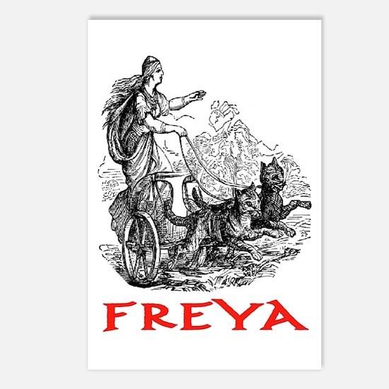 FREYA Postcards (Package of 8)