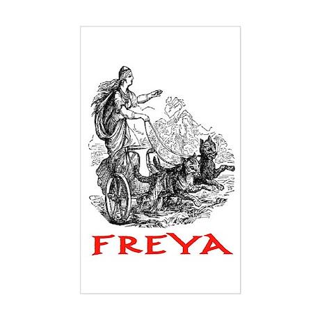 FREYA Rectangle Sticker