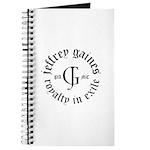 Jeffrey Gaines Journal / Notebook