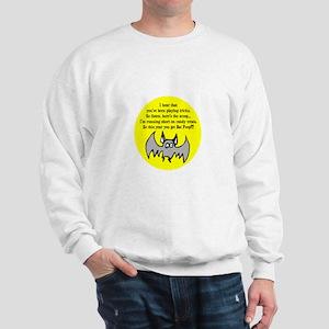 BAT POOP HALLOWEEN DESIGN Sweatshirt