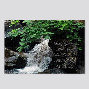 Surely Goodness and Mercy Wil Postcards (Package o