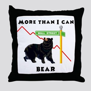 More Than I Can Bear Market Throw Pillow