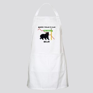 More Than I Can Bear Market BBQ Apron