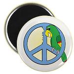 Parrots for Peace Magnet