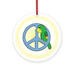 Parrots for Peace Ornament (Round)