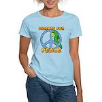 Parrots for Peace Women's Light T-Shirt