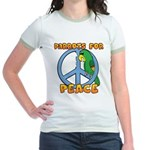 Parrots for Peace Jr. Ringer T-Shirt