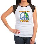 Parrots for Peace Women's Cap Sleeve T-Shirt