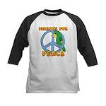 Parrots for Peace Kids Baseball Jersey
