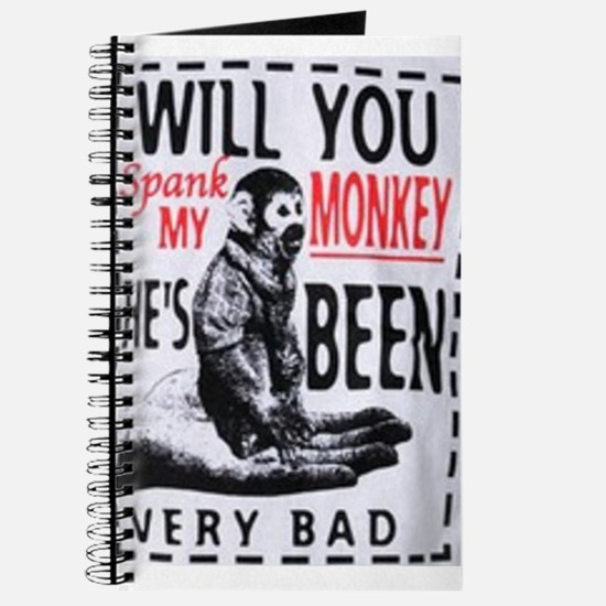 Spank my monkey Journal