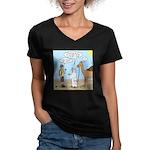 Oasis Hot Women's V-Neck Dark T-Shirt